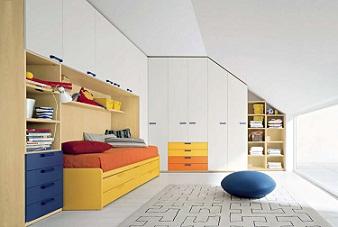 Camera da letto in mansarda - Idee soppalco camera da letto ...