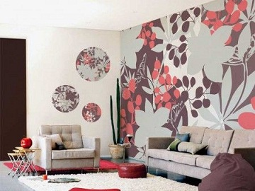 Decorare le pareti di casa colorare muri appartamento for Abbellire pareti di casa