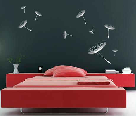 adesivi murali sticker murali per pareti. Black Bedroom Furniture Sets. Home Design Ideas