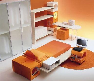 arredamento colori arancio