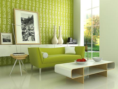 arredamento colori verde