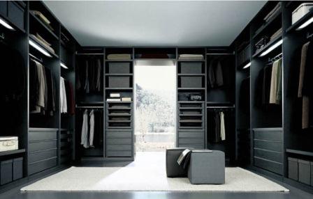 La cabina armadio la stanza adibita ad armadio divisa configurare