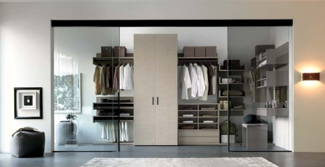 La cabina armadio la stanza adibita ad armadio divisa - Stanza armadio ...