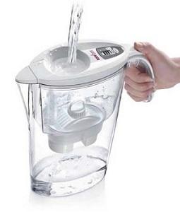 caraffa depura acqua