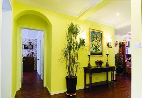 Parete Colorata Verde : Colori muri. Quali colori per la casa.