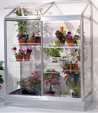 how to build a small indoor greenhouse
