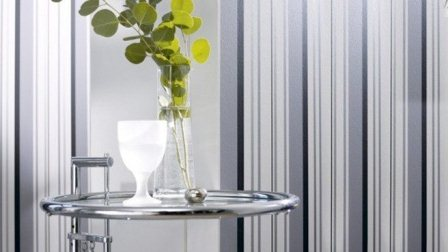 Pareti a righe le righe sulla parete per ambienti moderni - Decorare pareti con pittura ...