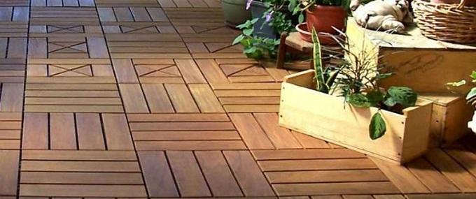 pavimento da esterni in legno