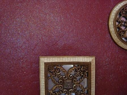 Pareti Glitter Oro : Pittura delle pareti a glitter effetto brillante