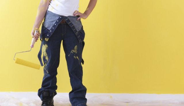 Pitturare le pareti interne