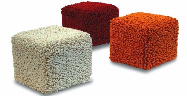 Il pouf complemento d arredo colori dimensioni materiale for Pouf fai da te