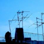 problemi con antenna del televisore