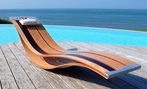 Sedia A Sdraio In Legno : La sedia a sdraio da esterni.