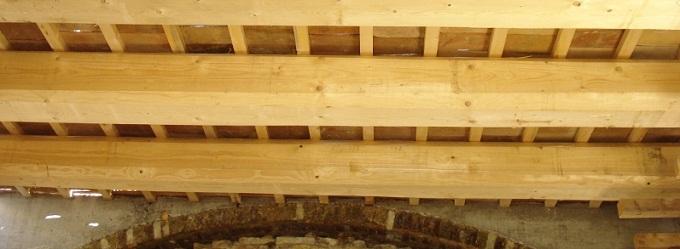 come fare solaio in legno in una piccola stanza : Solaio in legno, ferro, cemento armato, altri materiali