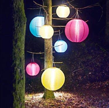 Solvinden: lampada da esterni  senza elettricità.