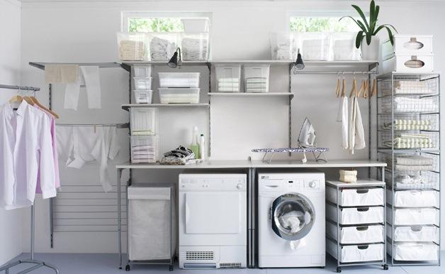 Angolo Lavanderia Terrazzo : Spazio lavanderia adibire stanza sgabuzzino lavanderia casa