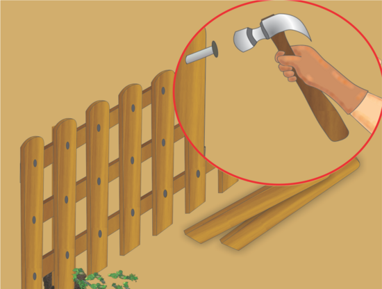 Recinzione Del Giardino Realizzare Steccato In Legno Guida Fai Da Te