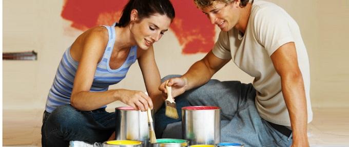 Come pitturare casa tinteggiatura fai da te - Pitturare casa da soli ...
