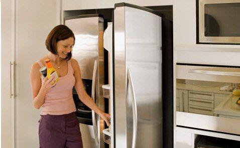 Il frigorifero della cucina