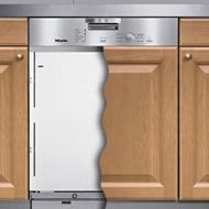 lavastoviglie incasso con pannello di copertura tovaglioli di carta. Black Bedroom Furniture Sets. Home Design Ideas
