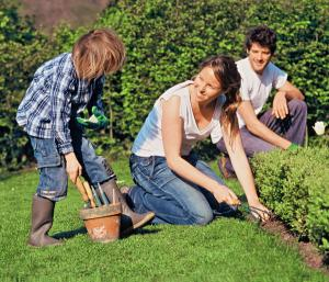 lavori giardino primavera