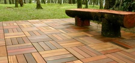Pavimentazione da giardino naturale parzialmente naturale artificiale - Pavimentazione giardino in legno ...