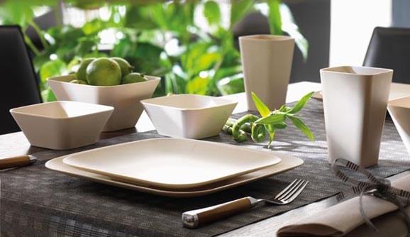 Prodotti naturali per sistemare la tavola