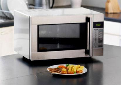 usare forno microonde