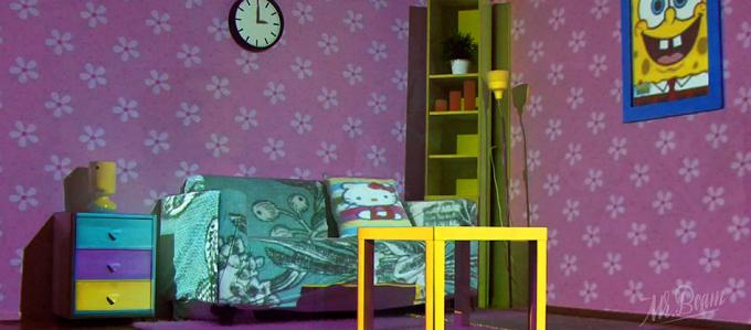 Interior design 3D!! Come cambia una stanza. Fantastico video