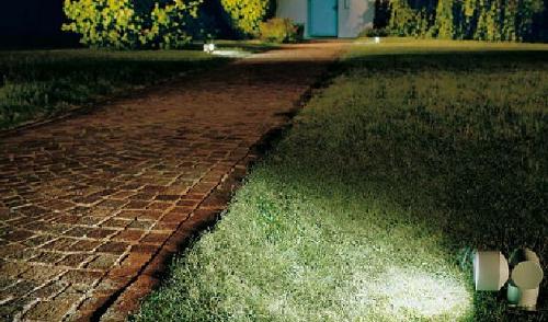 Luci da terra per giardino illuminazione da giardino casa affini