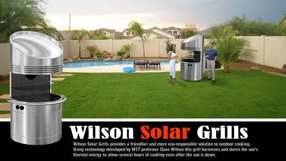 Barbecue ad energia solare