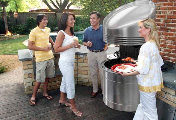 Barbecue comodo