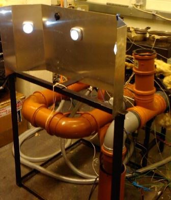 stufa con motore termoacustico
