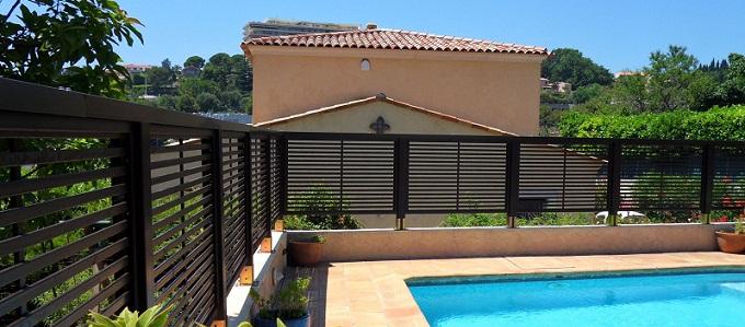 Frangivista per proteggere la privacy in giardino o terrazza - Recinzione terrazzo ...