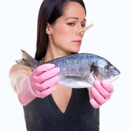 puzza di pesce eliminare
