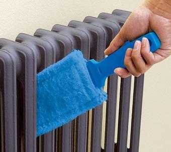 Manutenzione e pulizia caloriferi