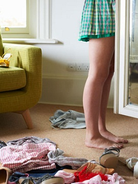 pulire l armadio