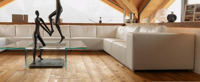 Pulizia pavimenti in legno con prodotti naturali