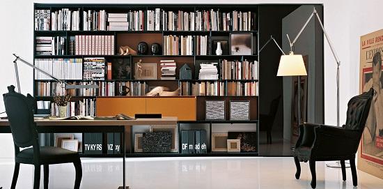 libreria Infinity di Antonio Citterio