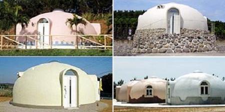 Dome-House-casa di polistirolo