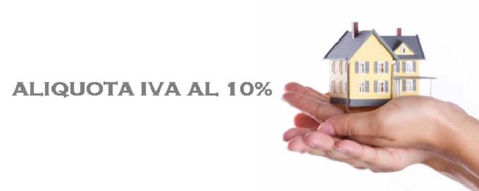 Aliquota Iva 10%