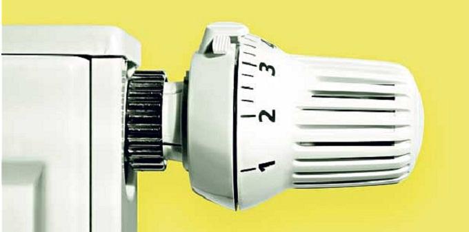 Bolletta più leggera con un riscaldamento autonomo con termo valvole