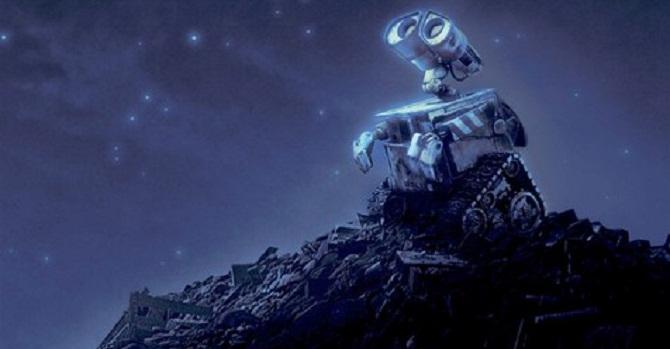 robot trita rifiuti