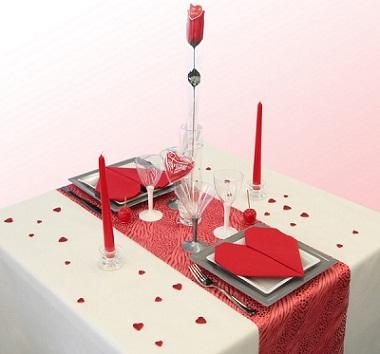 San valentino l atmosfera giusta per una cena romantica - Idee per cena romantica a casa ...
