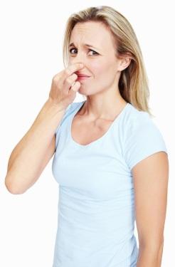 come eliminare il cattivo odore
