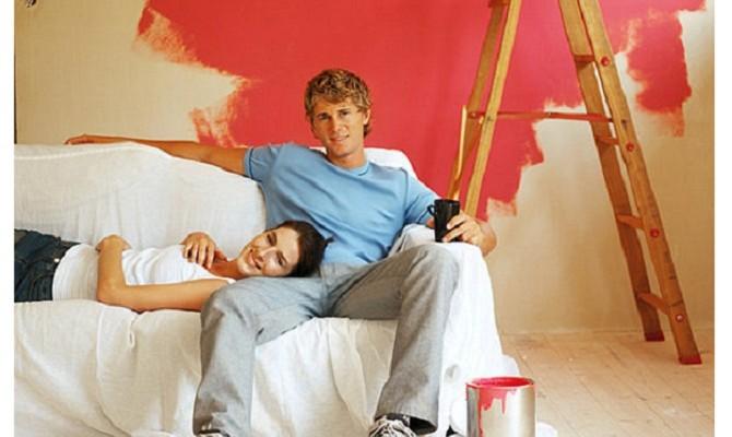 Dipingere casa con la cromoterapia