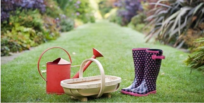 lavori in giardino ad aprile