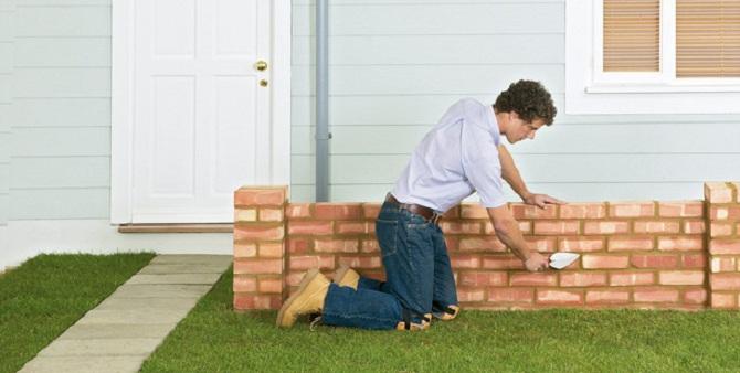 Come costruire un muro esterno for Costruire un ranch a casa