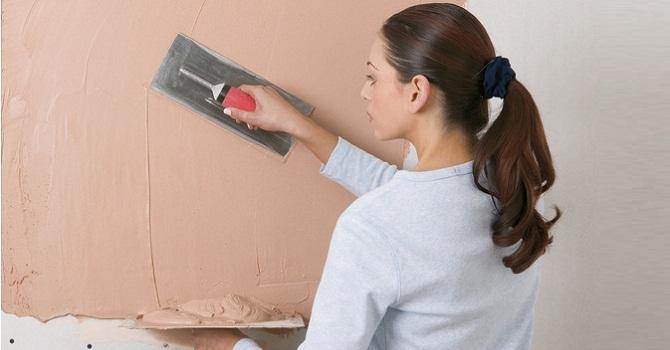 Come stendere l'intonaco sulla parete
