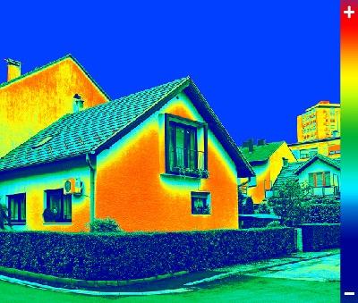 termocamera in edilizia